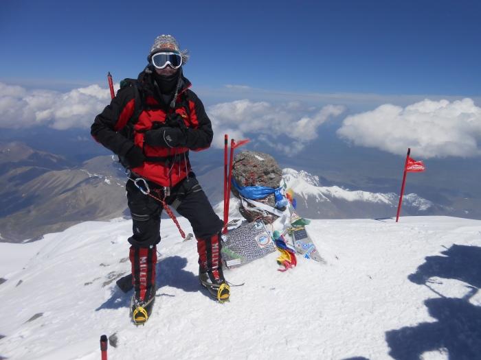 Izidor Furjan na Elbrusu 5642m